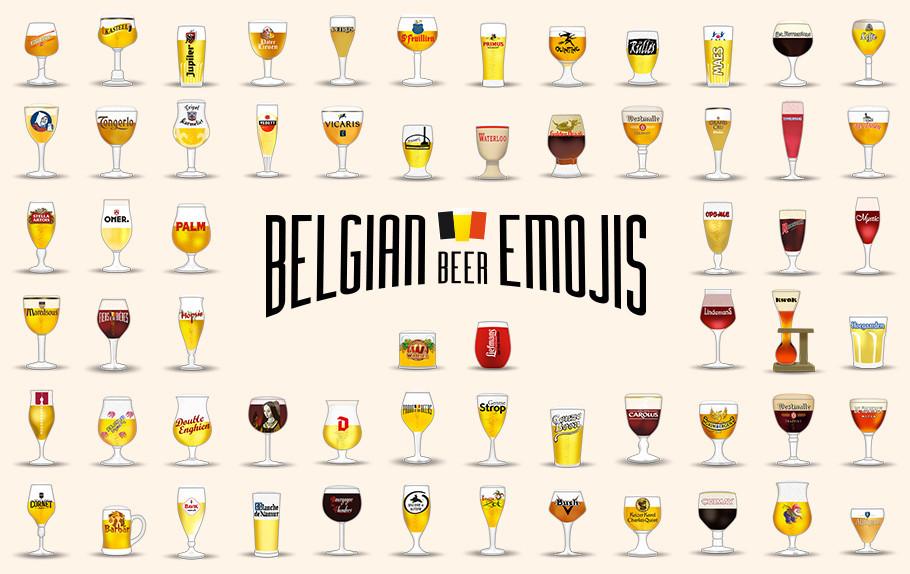 Emoji S Van Onze Belgische Bieren Focus On Belgium