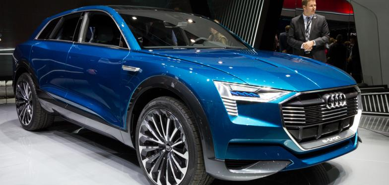Audi Brussels Moves Towards Electric Cars With The Etron Focus On - Audi electric cars