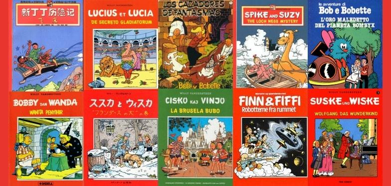 Did You Know That The Belgian Comic Strip Duo Known As Suske Wiske