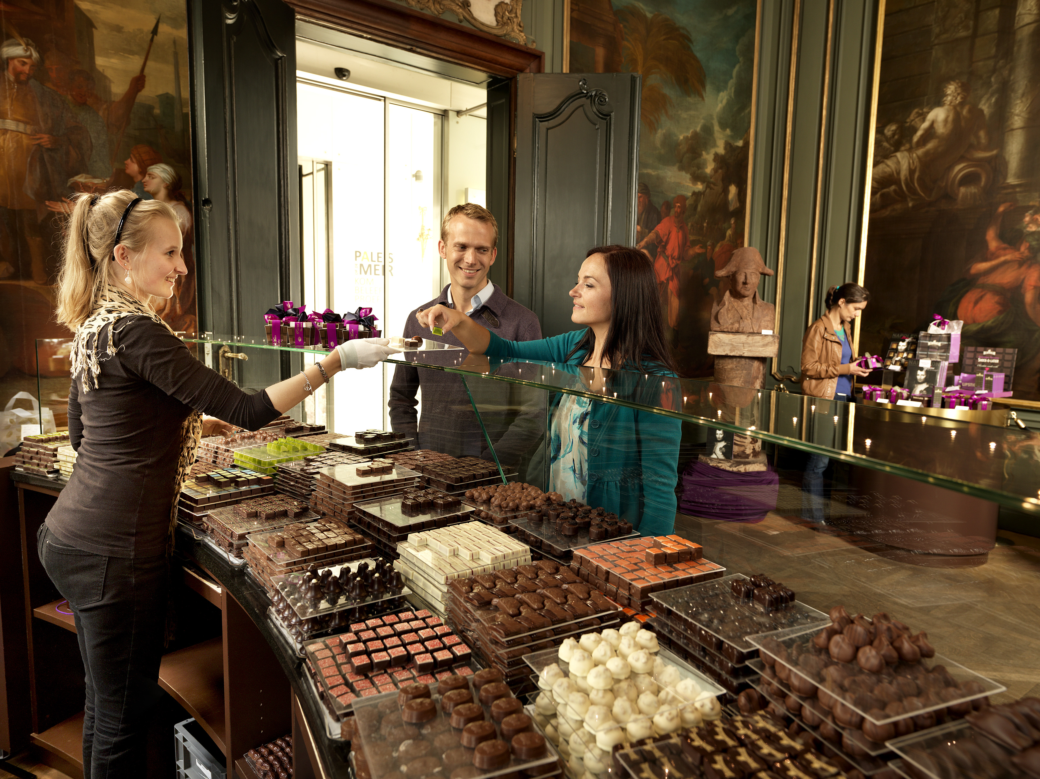 Did you know that Brussels Airport is the world's biggest chocolate shop?
